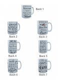 4 Best Friends Forever Coffee Mug, Best Friend Mug