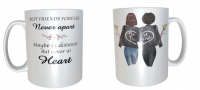 2 Best Friends Forever, Custom Best Friend Mug, Personalised mug