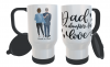 Father & Daughter Travel Mug, Custom Father and Daughter Mug