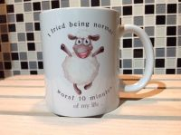 Sheep Ceramic Mug - I Tried Being Normal It Was The Worst ...